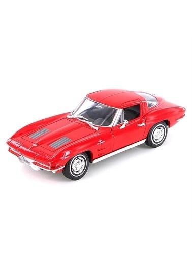 Welly Welly 1963 Chevrolet Corvette Oyuncak Araba Renkli